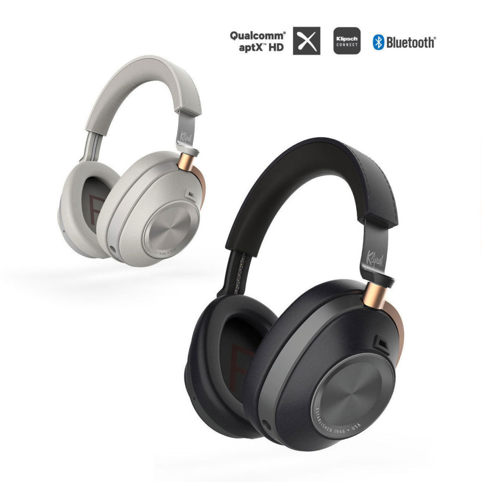 Klipsch Over-Ear Active Noise Canceling Headphones