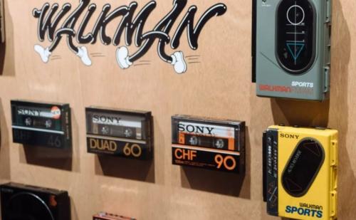 Sony tổ chức kỷ niệm 40 năm máy nghe nhạc Walkman ở Tokyo