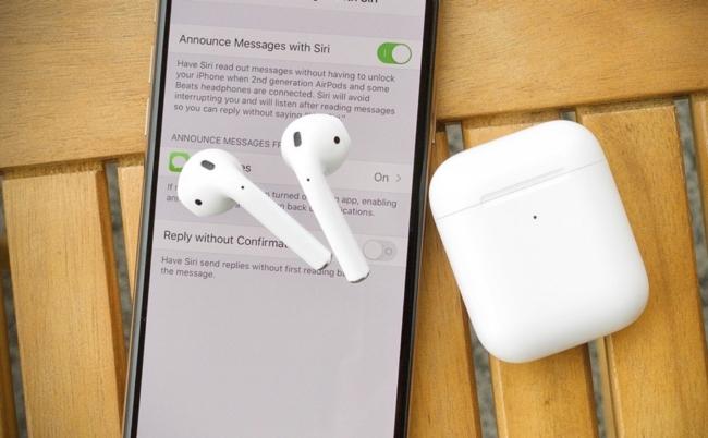 Bật tính năng hỗ trợ nghe và trả lời tin nhắn trực tiếp với AirPods 2, Powerbeats Pro trên iOS 13.2
