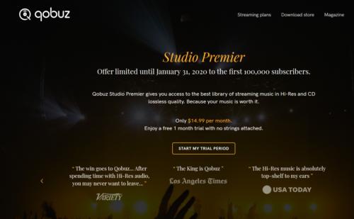 Các dịch vụ stream nhạc đồng loạt thay đổi gói dịch vụ sau khi Qobuz giảm giá