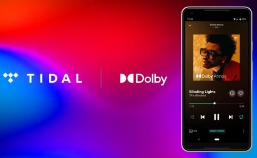 TIDAL chính thức hỗ trợ stream nhạc tiêu chuẩn surround Dolby Atmos Music