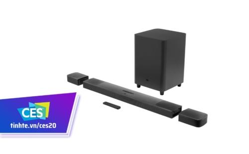 JBL Bar 9.1 soundbar cao cấp hỗ trợ Dolby Atmos, thiết kế module, giá 900$