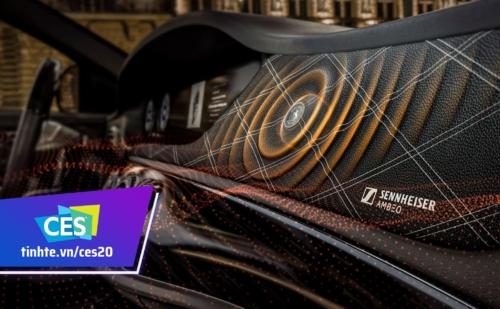 Sennheiser và Continental phát triển công nghệ âm thanh không dùng loa cho xe hơi