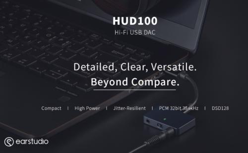 Radsone HUD100: Portable DAC/Amp nhỏ gọn, không có pin, giải mã DSD 128, giá khoảng 4tr VNĐ