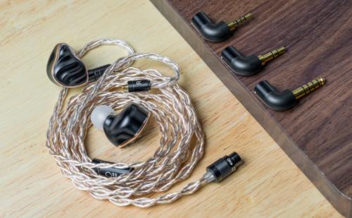 FiiO LC-RE: Dây in-ear đầu bảng mới của FiiO kết hợp đồng, bạc và vàng, module jack tháo rời