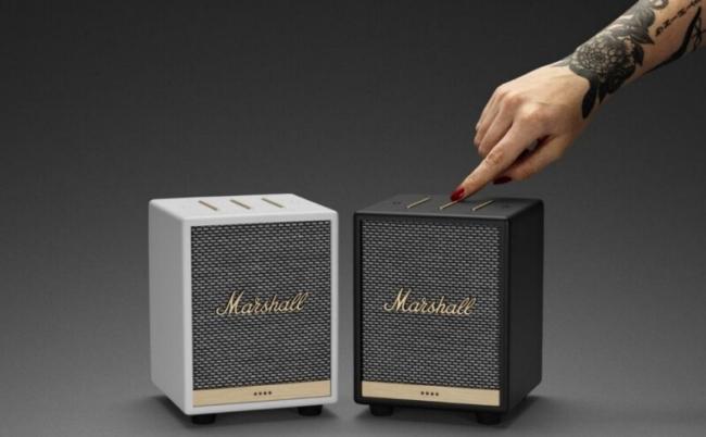 Marshall Uxbridge Voice – Loa thông minh nhỏ gọn sử dụng Alexa, thiết kế mới, AirPlay 2, giá 199 USD