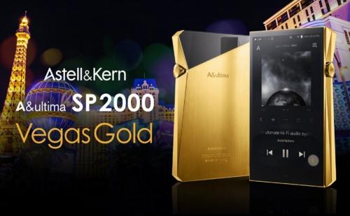 Astell & Kern A&ultima SP2000 Vegas Gold: Máy Nghe Nhạc Cao Cấp Mạ Vàng