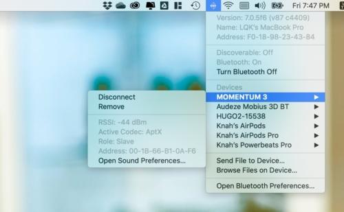Hướng Dẫn Kích Hoạt Codec aptX Trên macOS Và Windows