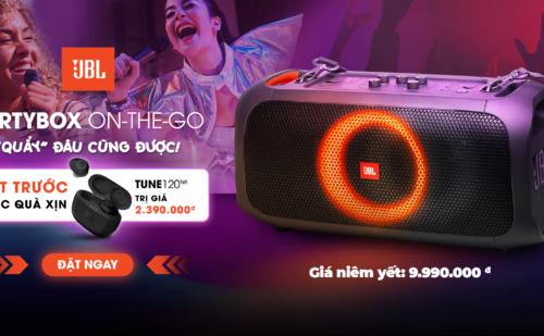 Đặt Trước Loa JBL PartyBox On-Go-On, Tặng Ngay Tai Nghe JBL Tune 120 True Wireless