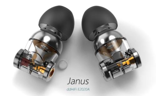 DDHiFi Janus: Mẫu in-ear Đầu Tiên Sử Dụng Cả MMCX và 2-pin Trên Một Housing
