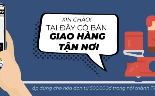 Hỗ Trợ Mùa Dịch, 3KShop Giao Hàng Miễn Phí Tại TP.Hồ Chí Minh